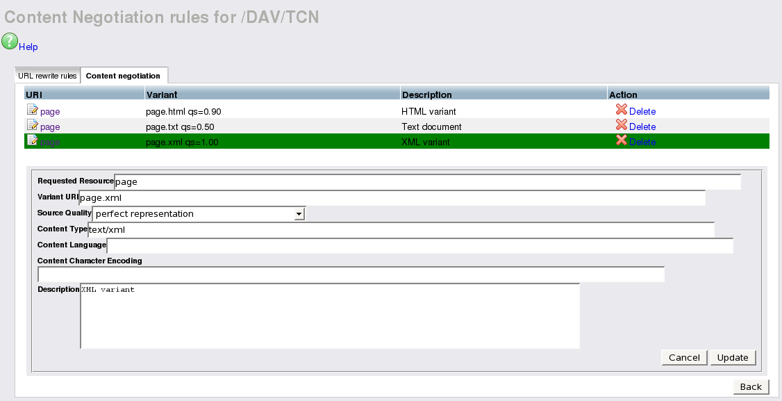 TCN Configuration - via Conductor UI